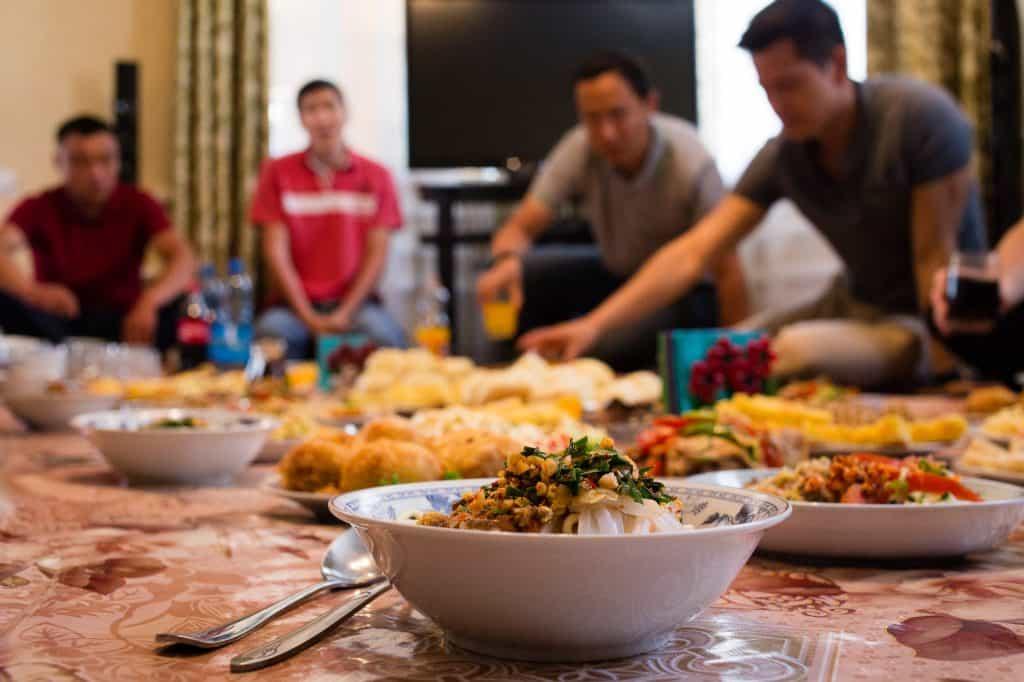 Dungan Family Dinner Karakol