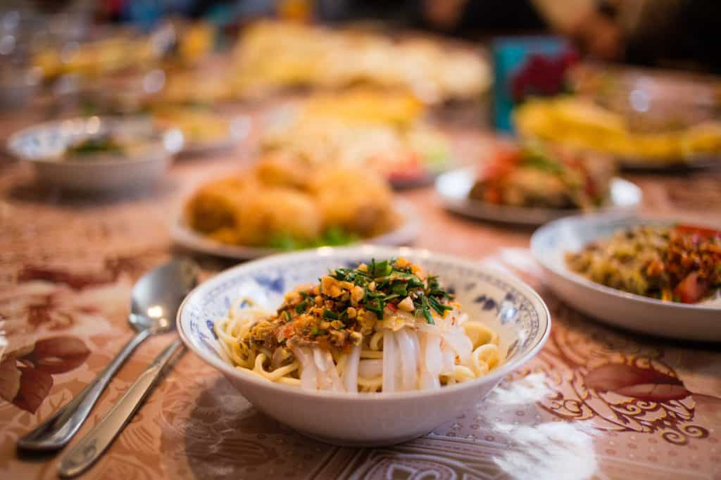 Karakol Food Tours, Dungan Family Dinner