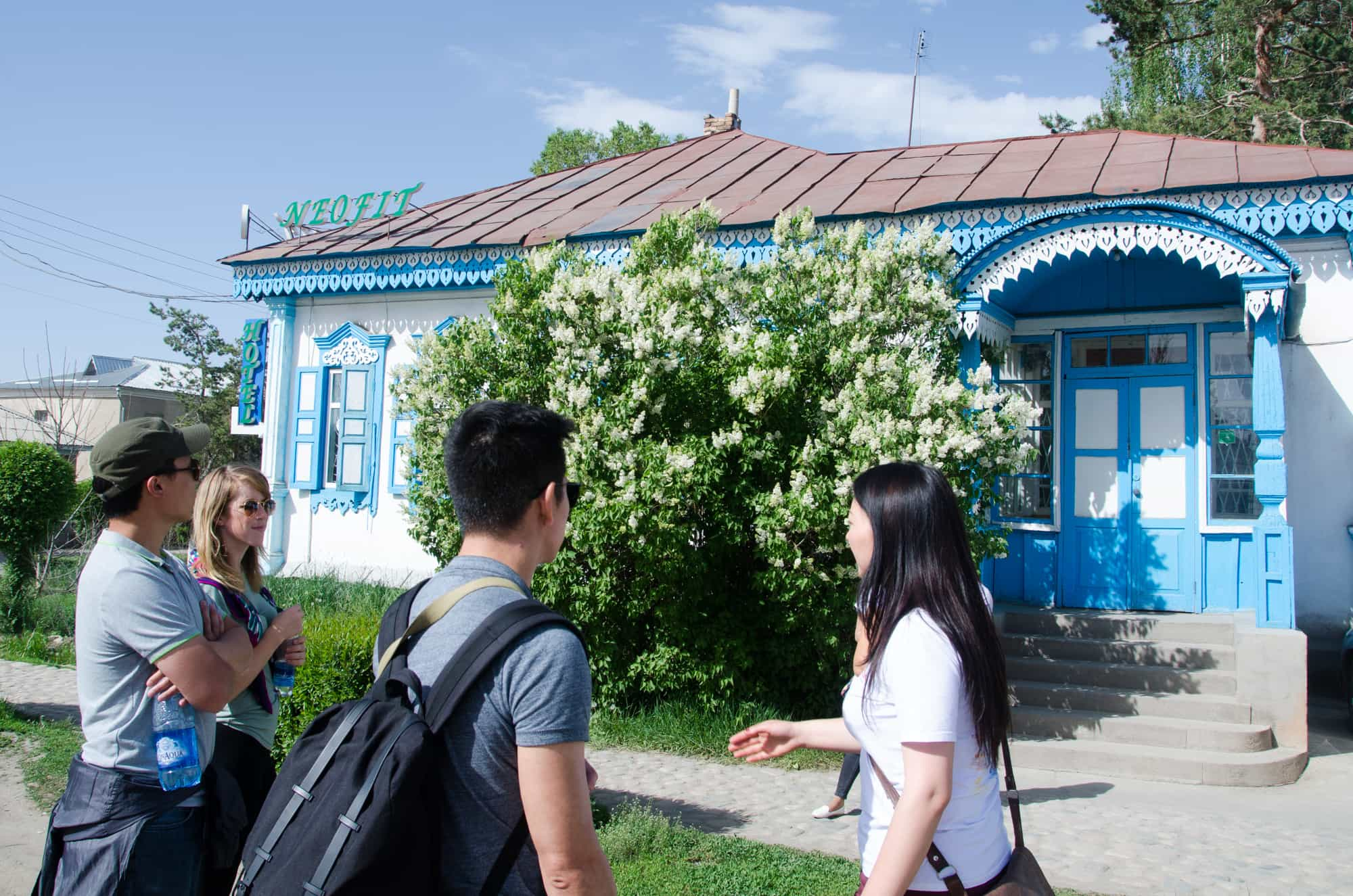 Karakol Walking Tour, Gingerbread Houses