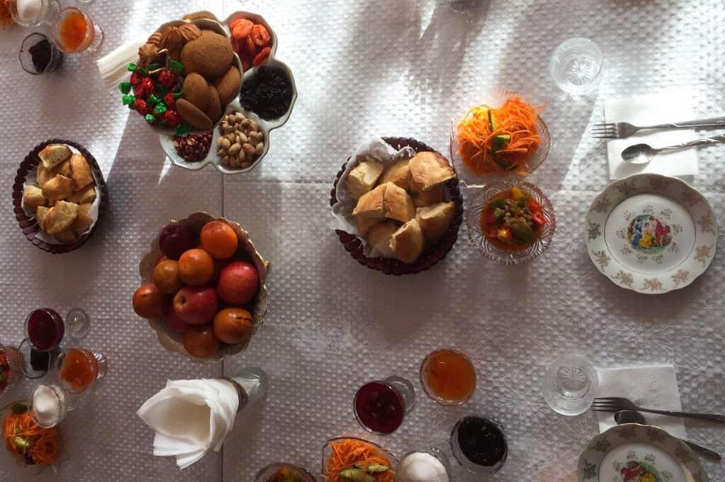 Karakol Eating