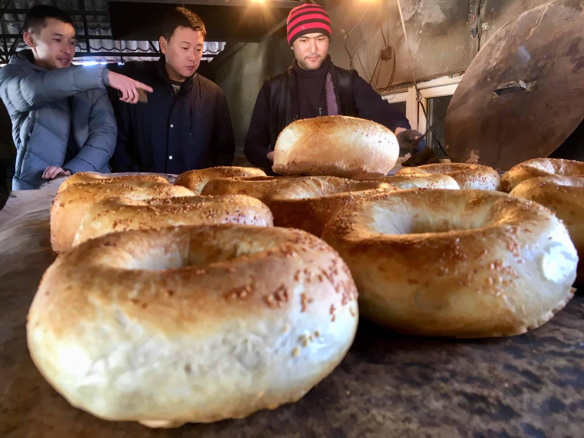 Bread making tour in Karakol