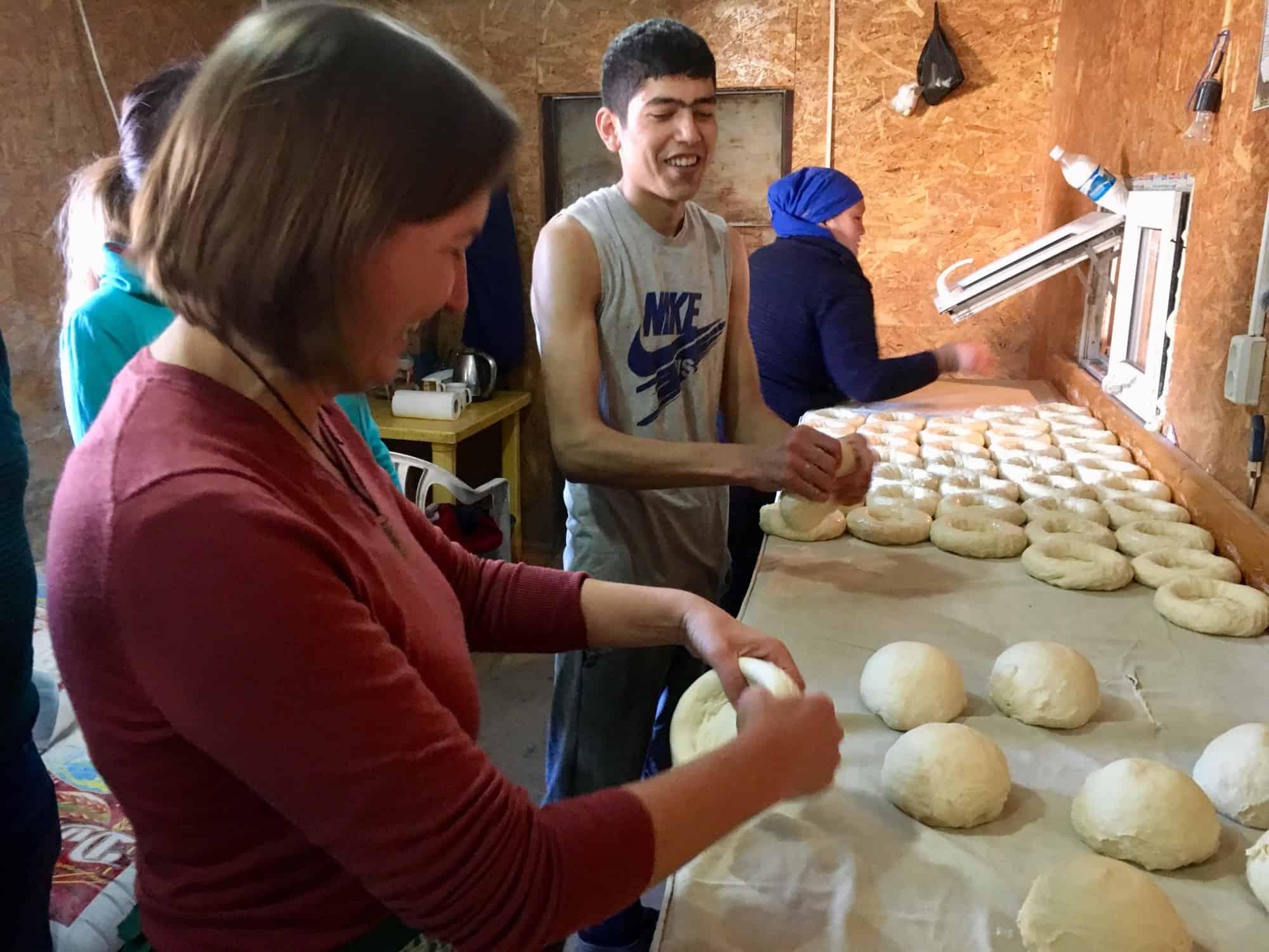 Bread making tour   Destination Karakol