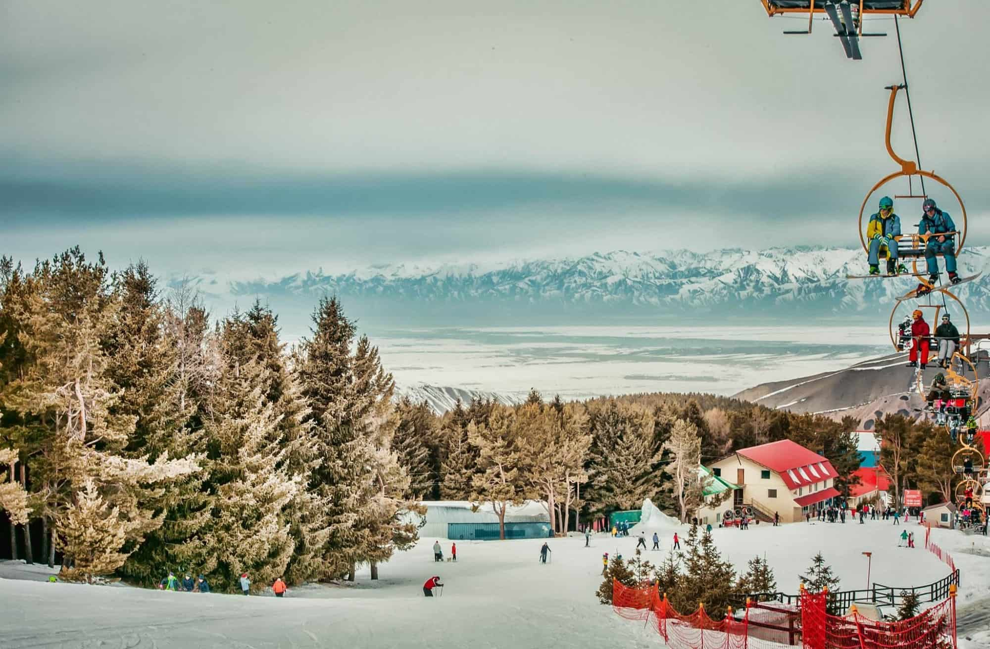 Winter sports in Karakol