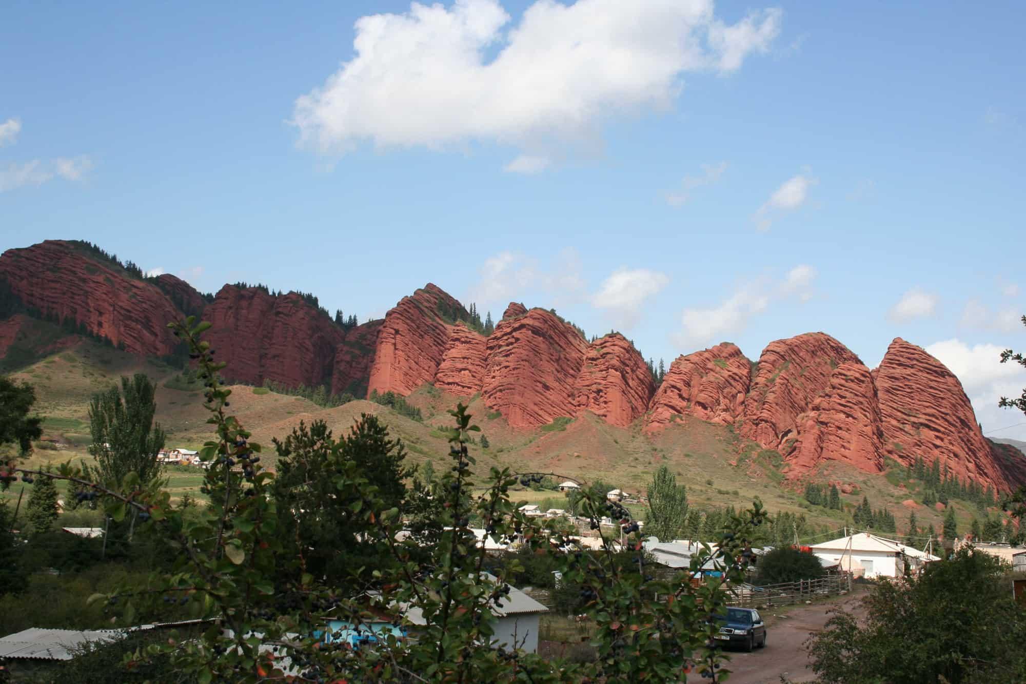 Jeti-Oguz, Day Trip from Karakol
