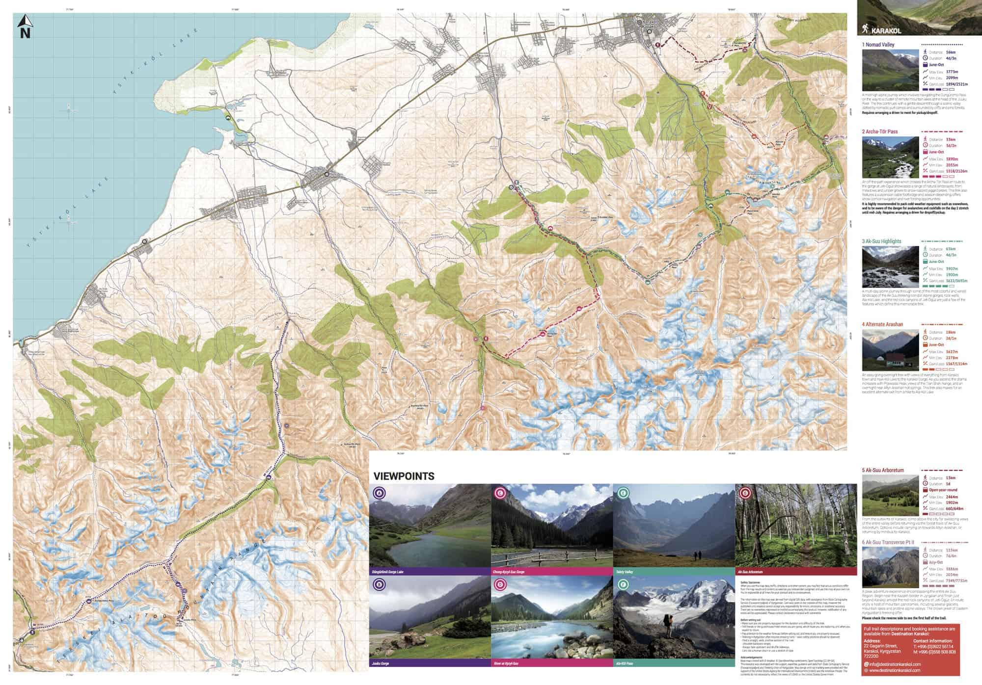 Karakol_Trekking_Map