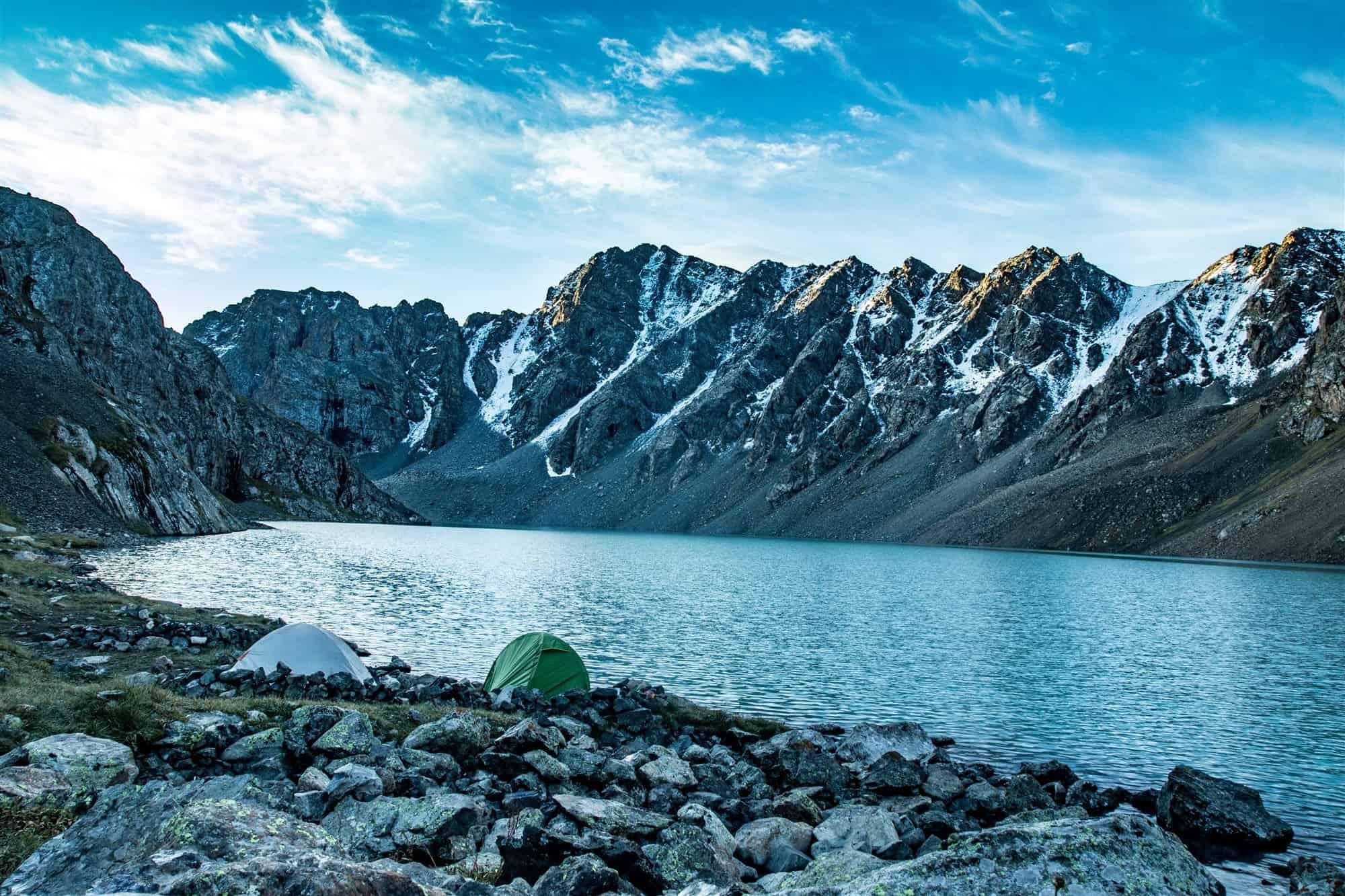 Alakul lake