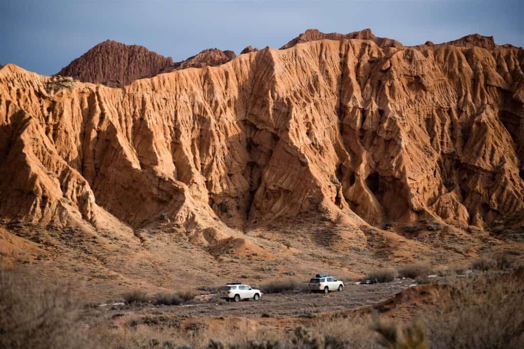Mars Canyon Kyrgyzstan
