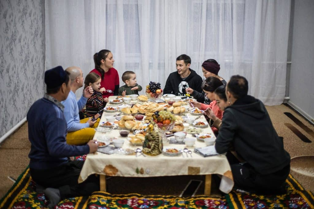 Uyghur Family Dinner