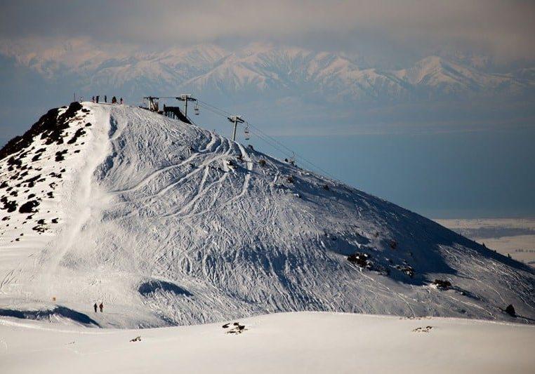 Skiing in Karakol, Kyrgyzstan